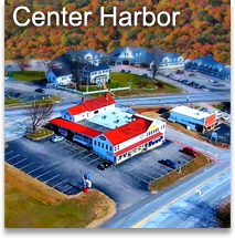 A bird's eye view of Center Harbor.