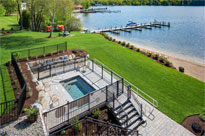 Enjoy the beauty of Lake Winnipesaukee from our perfectly manicured lakefront.